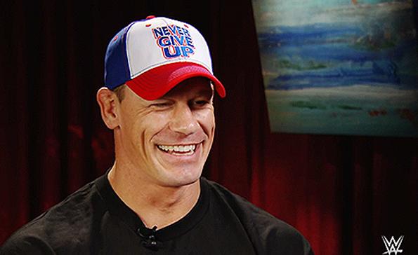 John Cena Smile